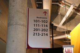 Gentile Arena (Loyola University); Interior Wayfinding System