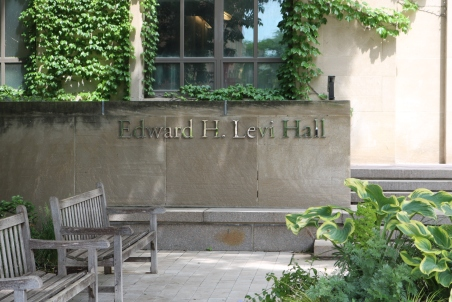 Edward H. Levi Hall (University of Chicago); Dimensional Letters