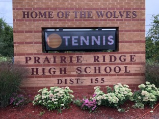Prairie Ridge High School (Illinois); Dimensional Letters