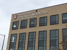 Center for Advanced Care (University of Chicago Medicine); Dimensional Letters and Logo