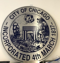 City of Chicago; Municipality Sign