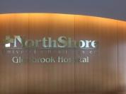 Northshore University Health System (Glenbrook Hospital); Dimensional Letters and Logo