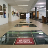 Loyola University (Chicago, IL); Innovative Environmental Stability Building vinyl floor tiles