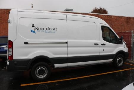 NSSD 112 (Highland Park, IL); Exterior Grade Vinyl Logo and Vinyl ID number