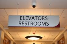 Corboy Law Center (Loyola University); Interior Wayfinding Signage