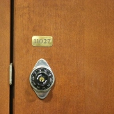 University of Loyola (Chicago, IL); Locker Numbering Tags with Etched Digits