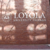 Downtown Campus (Loyola University); Stainless Steel, Exterior Grade, Dimensional Letters and Logo