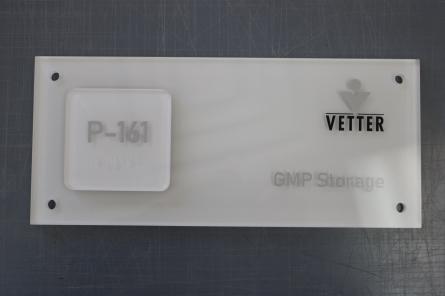 Vetter Room Sign