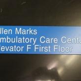 NorthShore University HealthSystem (Highland Park, IL); Tactile Directional Sign