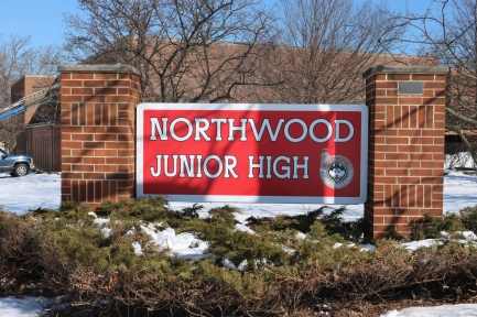 "Northwood Junior High (Highland Park, IL); Digital Print on 1/8"" Acrylic"
