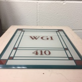 Hamilton Partners (Downers Grove, IL); Silk Screened Design (sub-surface) with Top Surface Print, Suite Marker