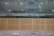 Department of Computer Science (University of Chicago); High Performance, Second Surface, vinyl letters