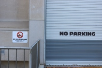 """University of Chicago (Chicago, IL); Exterior Grade Digital Print on Aluminum Sign Base to read """"No Idling Zone"""""""