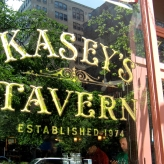 Kasey's Tavern; Second Surface, Gold & Silver Leaf letters and design by our GoldFather
