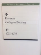 Armour Academic Center (Rush University Medical Center); Directory Sign