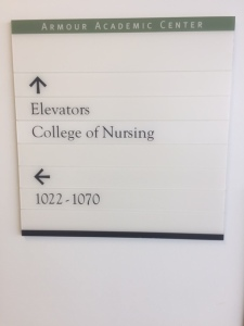 Armour Academic Center (Rush University Medical Center); Directory Sign