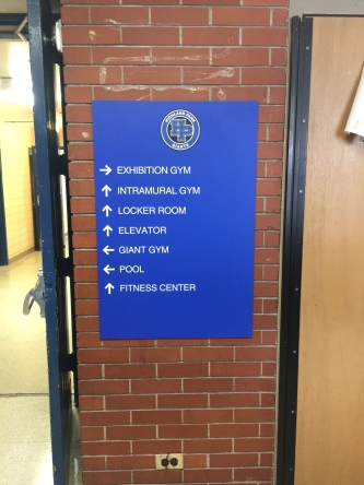 Highland Park High School (Highland Park, IL); High-Performance Digital Print on Painted Acrylic