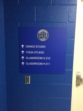 Highland Park High School (Highland Park, IL); High-Performance Digital Print on Painted Acrylic