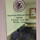Department of Human Services (Chicago, IL); State of Illinois High-Performance Vinyl Seal & Letters