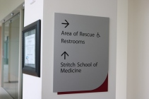 Loyola Medical Campus (Maywood, IL); SSOM/AOR Direcitonal Signage