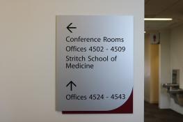 Loyola Medical Campus (Maywood, IL); Directional Signage