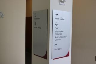 Loyola Medical Campus (Maywood, IL); SSOM Directional Signage