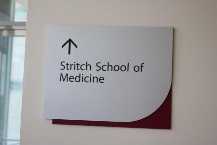 Loyola Medical Campus (Maywood, IL); SSOM Directional Sign