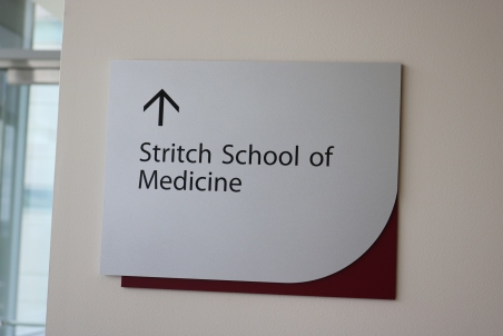 Loyola Medical Campus (Maywood, IL); SSOM Directional Sign