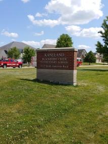 Blackberry Creek Elementary School (Elburn, IL); Aluminum Dimensional Letters