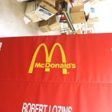 Jesse White Tumbler Mats (Chicago, IL); Custom Screen Printed McDonald's Graphics on the Famous JWT Mats
