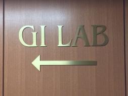 NorthShore University HealthSystem (Highland Park, IL); Brass Dimensional Letters + Arrow