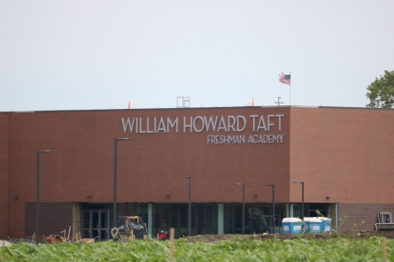 Wiliam Howard Taft Freshman Academy (Norridge, IL); 4-Foot Tall Dimensional Letters