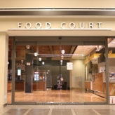 Food Court (Loyola University); Aluminum Dimensional Letters + Bar