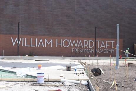 Wiliam Howard Taft Freshman Academy (Norridge, IL); 4-Foot Tall Dimensional Letters