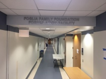 Foglia Family Foundation Formulation Facility (University of Illinois-Chicago); Stainless Steel Dimensional Letters
