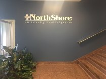 NorthShore University HealthSystem (Evanston, IL); Dimensional Letters and Logo