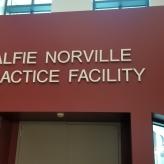 Alfie Norville Practice Facility (Chicago, IL); Dimensional Letters
