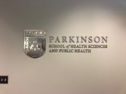 Parkinson School of Health Sciences (Maywood, IL); Loyola University Chicago Medical Campus Aluminum Dimensional Letters + Logo